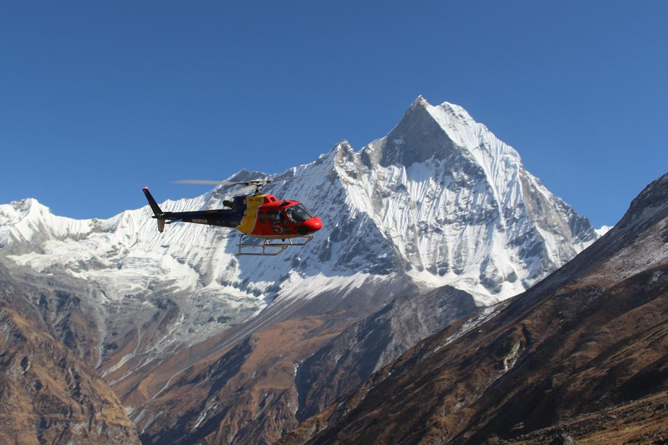 Image result for Annapurna Heli Tour